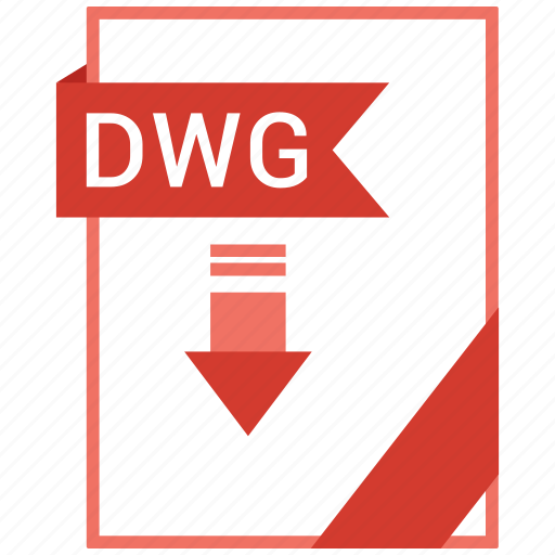 Document, dwg, extension, format, paper icon - Download on Iconfinder