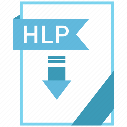 Document, extension, file, hlp icon - Download on Iconfinder