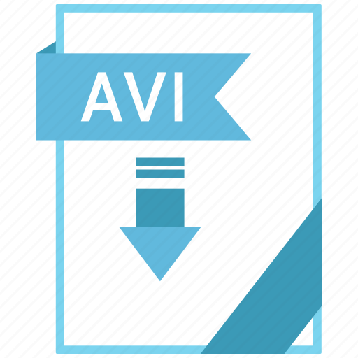 Avi, document, extension, format, paper icon - Download on Iconfinder