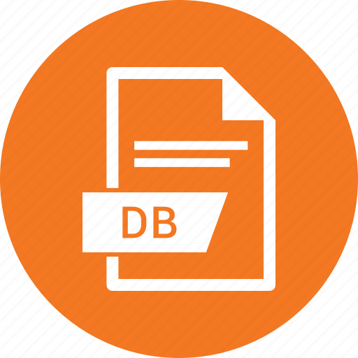 db, document, extension, file icon