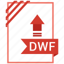 computer, dwf, file, tech icon
