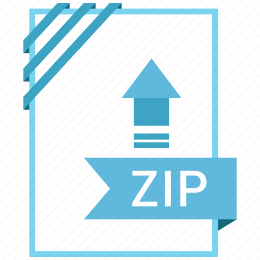 Extension, file, name, zip icon - Download on Iconfinder