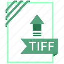 adobe, document, file, tiff icon