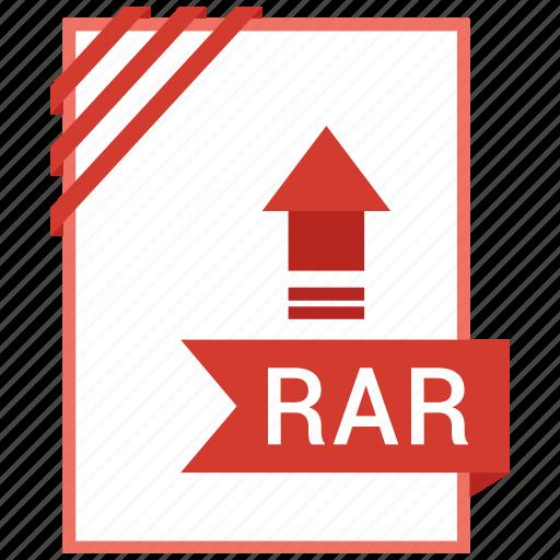 adobe, document, file, rar icon
