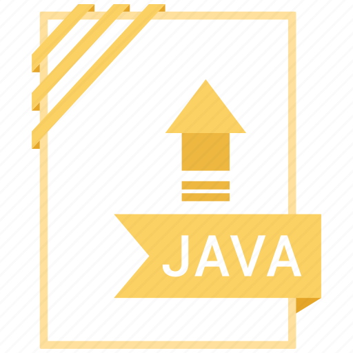 Extensiom, file, file format, java icon - Download on Iconfinder