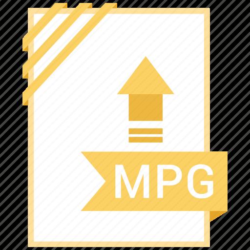 adobe, document, file, mpg icon