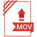 adobe, document, file, mov icon