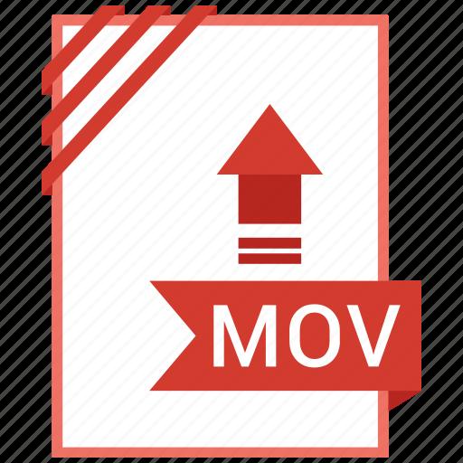 adobe, document, file, mov icon