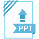 adobe, document, file, ppt icon