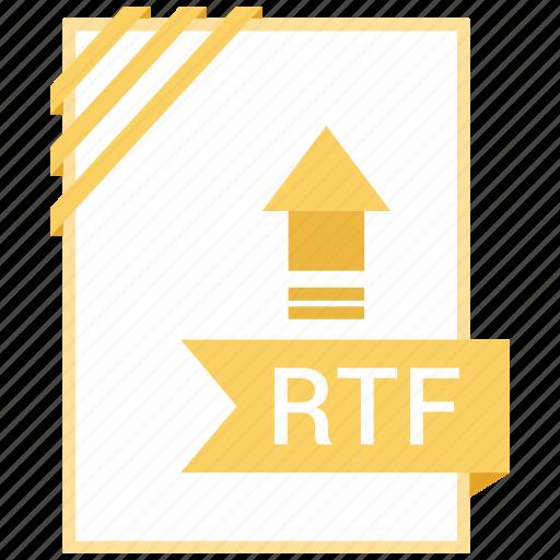 Adobe, document, file, rtf icon - Download on Iconfinder