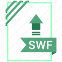 adobe, document, file, swf icon