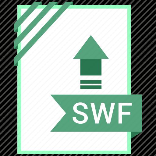 adobe, document, file, swf icon