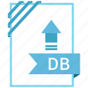 adobe, db, document, file icon