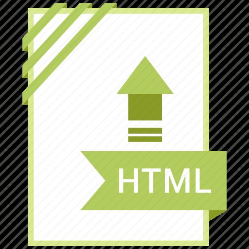 Document, adobe, html, file icon