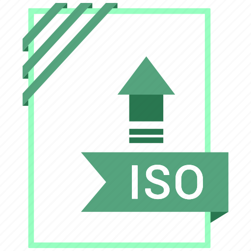 Adobe, document, iso, file icon