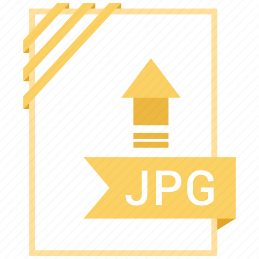 Extension, document, file, jpg icon
