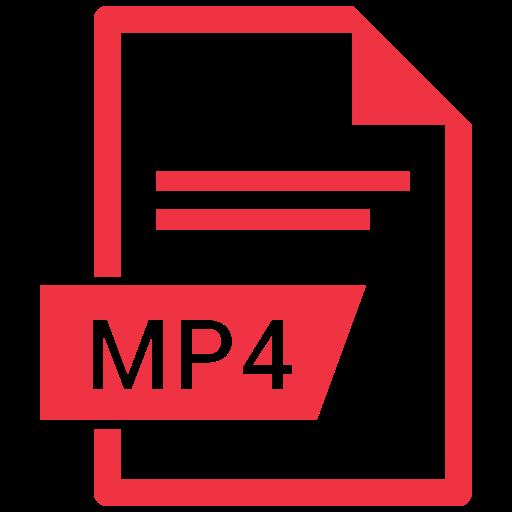 movie, mp4, video icon