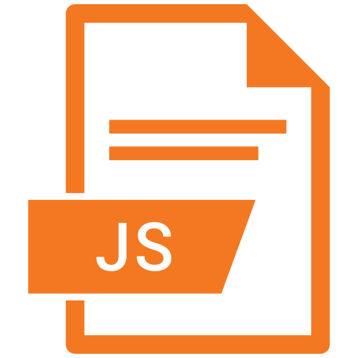 document, extension, file, js icon