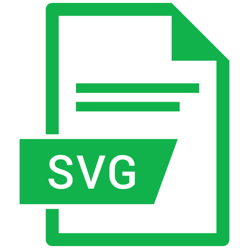 document, extension, format, paper, svg icon