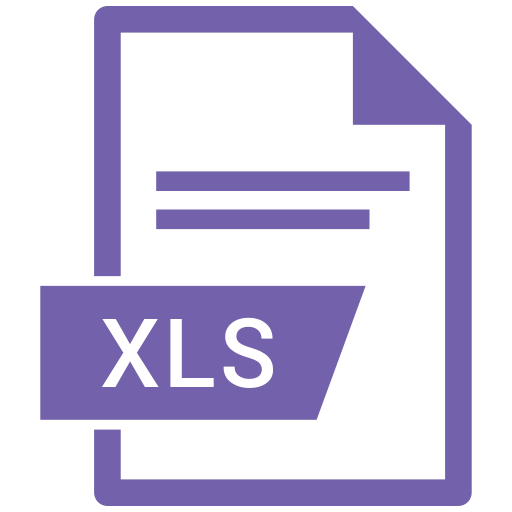 document, extension, format, paper, xls icon