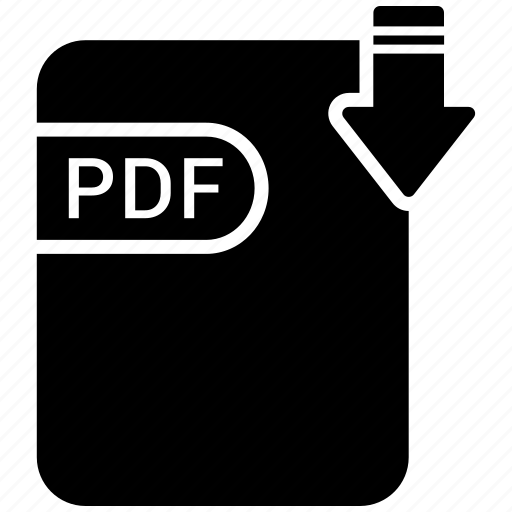 document, extension, folder, paper, pdf icon