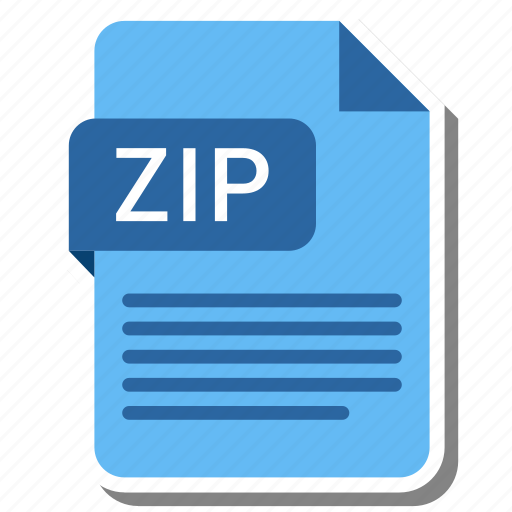 Document, extension, file, type, zip icon - Download on Iconfinder