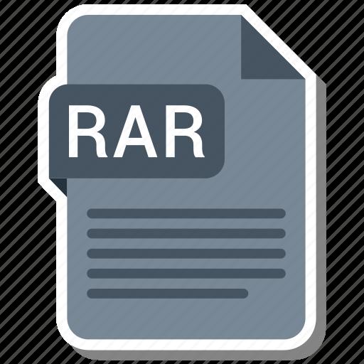 Document, extension, folder, paper, rar icon - Download on Iconfinder