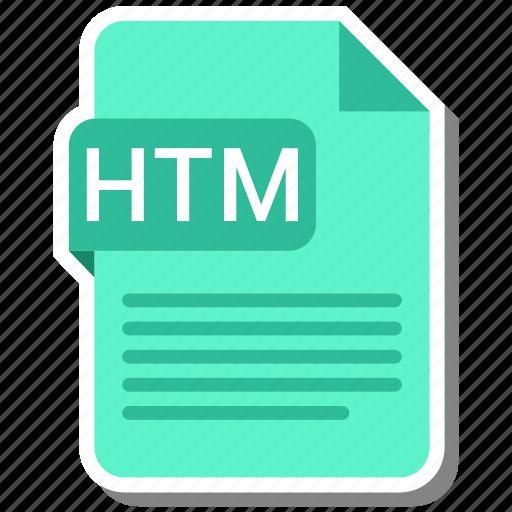 document, extension, file format, folder, htm, image, paper icon