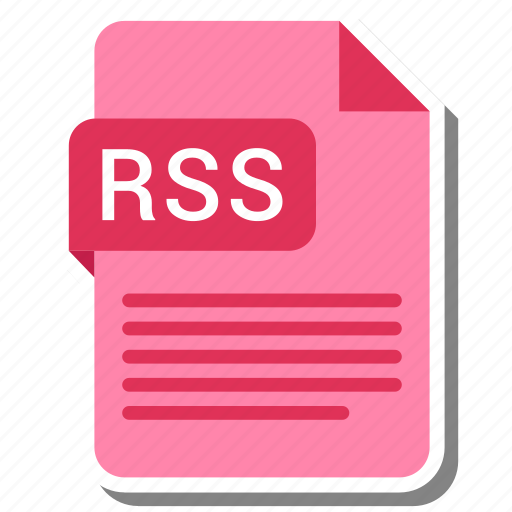 document, extension, file format, folder, image, paper, rss icon