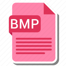 bmp, document, extension, file, type icon