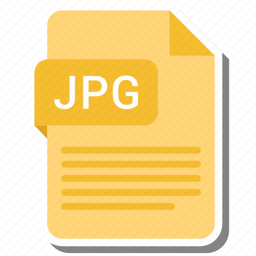 document, extension, format, jpg icon