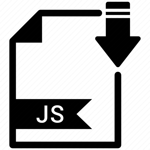 document, extension, format, js, paper icon