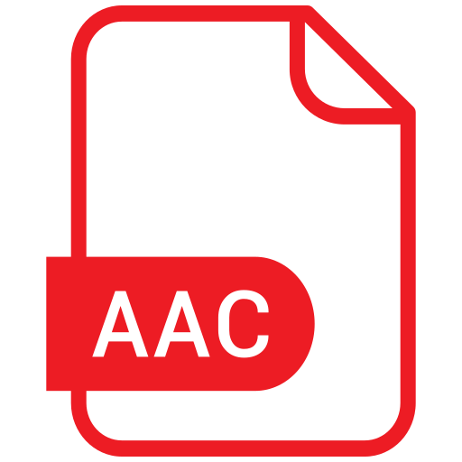 aac, document, eps, file, format icon