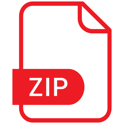 document, eps, file, format, zip icon