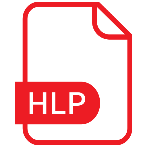 document, eps, file, format, hlp icon