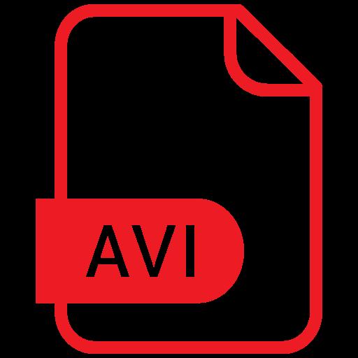 avi, document, file, format icon