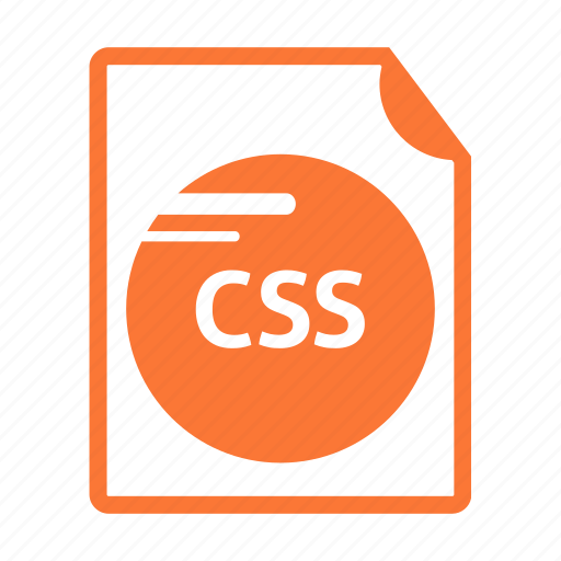 code, css, extension, file, format, name, web icon