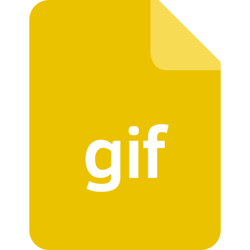 ducument, extension, file, filetype, format, gif icon