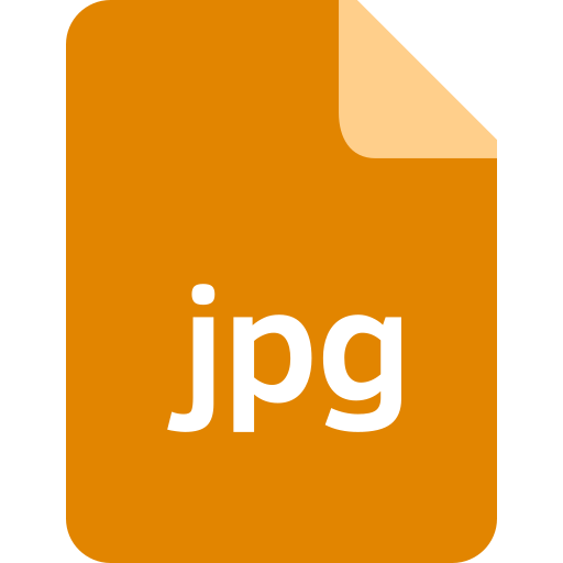 document, extension, file, format, jpg icon