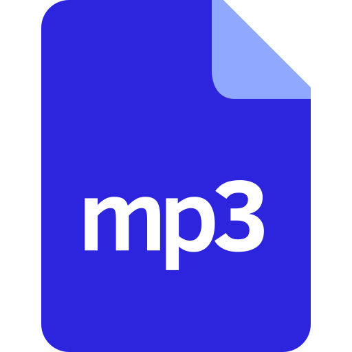 document, documents, file, format, mp3 icon