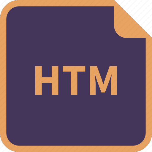 file, format, htm, name icon