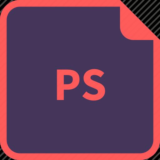 file, format, name, postscript, ps icon