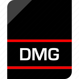 dmg, document, extension, file icon