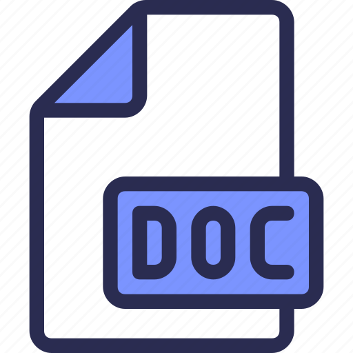 document, file, office, word icon