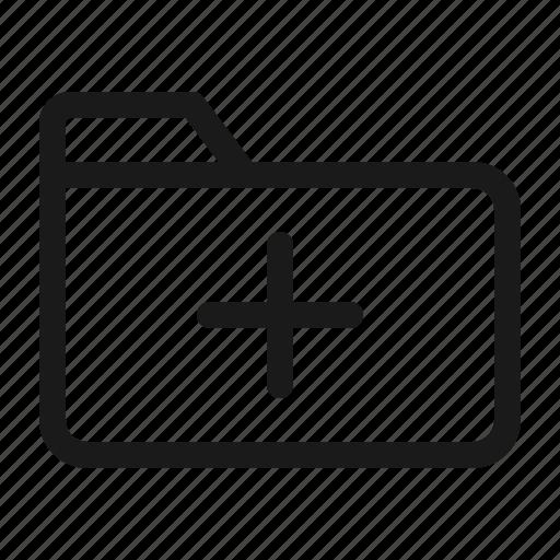Add, data, document, files, folder, management, paper icon - Download on Iconfinder