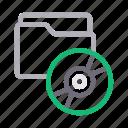 cd, directory, dvd, file, folder