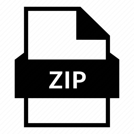 archive, data compression, document file, extension, zip, zip file, zipper icon