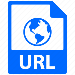 document, extension, file, format, url icon