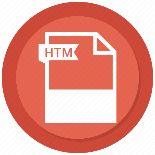 Document, extension, file, format, htm icon - Download on Iconfinder