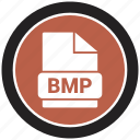 bmp, extension, file, file format icon